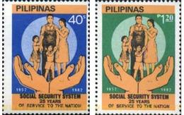 Ref. 313297 * MNH * - PHILIPPINES. 1982. 25 AÑOS DE SEGURIDAD SOCIAL - Santé