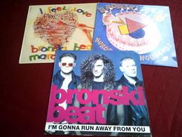 BRONSKI  BEAT  ° COLLECTION DE 6 VINYLES - Vinyl-Schallplatten