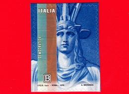 Nuovo - MNH - ITALIA - 2019 - Giornata Della Filatelia – Italia Turrita - B - Da BF - 6. 1946-.. Repubblica