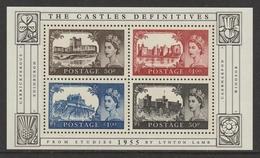 GREAT BRITAIN 2005 50th Anniversary Of Castle Definitives: Miniature Sheet UM/MNH - 1952-.... (Elizabeth II)