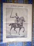LA FRANCE ILLUSTREE 18/05/1895 BEAUX ARTS JEANNE D' ARC PAUL DUBOIS DE PAREDES WALTER PRELL PAUL DUTHOIT ABBE DE BROGLIE - Giornali