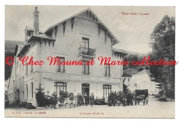 VENTRON HOTEL MARTIN - TAMPON 2 EME REGIMENT D ARTILLERIE DE MONTAGNE - VOSGES - BAILET NICE - CPA - France