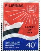 Ref. 313313 * MNH * - PHILIPPINES. 1983. SEGURIDAD EN EL MAR - Bateaux
