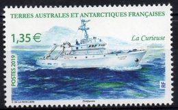 T.A.A.F. // F.S.A.T. 2019 - Bateau La Curieuse - 1 Val Neufs // Mnh - Terres Australes Et Antarctiques Françaises (TAAF)
