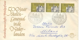 Netherlands 1964 FDC 500th Anniversary Of The States General - Storia