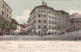 Carte Postale - Postkarte. Luzern - Hôtel Engel - LU Lucerne