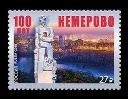 Russia 2018 Mih. 2588 Kemerovo City. Monument To The Miners Of Kuzbass MNH ** - 1992-.... Federation