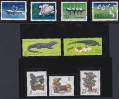 CHINA 1983, 3 Serien (grave Of Yellow Emporer, Alligators, Swans), Mint Never Hinged - 1949 - ... Repubblica Popolare