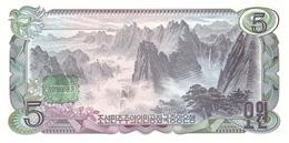 KOREA P. 19b 5 W 1978 UNC - Corea Del Nord