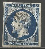 FRANCE - Oblitération Petits Chiffres LP 832 CHAUVIGNY (Vienne) - 1849-1876: Classic Period