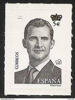 SELLO Nº **4939 BÁSICA REY 5 EUROS - DESCUENTO 40%----    QUEDA EN 3 EUROS SELLO. NUEVO CON SU PAPEL ADESIVO. - 1931-Hoy: 2ª República - ... Juan Carlos I