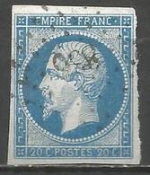 FRANCE - Oblitération Petits Chiffres LP 836 CHEF-BOUTONNE (Deux-Sèvres) - 1849-1876: Période Classique