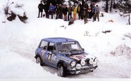 Bruno Saby  -  Autobianchi A112 Abarth  - Rallye Monte-Carlo 1978   -  PHOTO 15x10cms - Rallyes