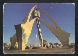 United Arab Emirates Dubai Clock Tower Dubai View Card U A E - Dubai