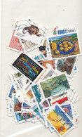 Lot De 65  Timbres Autoadhésifs Différents - Adhesive Stamps