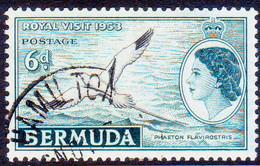 BERMUDA 1953 SG 151 6d Used Royal Visit - Bermuda