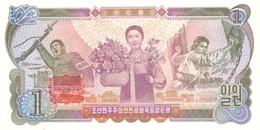 KOREA P. 18c 1 W 1978 UNC - Korea (Nord-)
