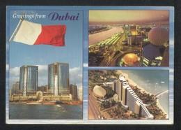 United Arab Emirates Dubai 3 Scene Picture Postcard U A E View Card - Dubai