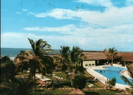 !  1992 Postcard From Banjul, Kombo Beach Novotel, Gambia, Easter Stamps, Ostern - Gambia