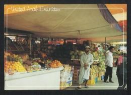 United Arab Emirates Fruit & Vegetable Market Picture Postcard U A E View Card - Dubai