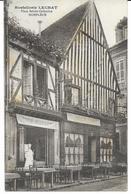 14 HONFLEUR Hostellerie LECHAT Place Saintre Catherine CPA Dos Vierge - Honfleur