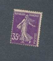 FRANCE - N°YT 142 NEUF** SANS CHARNIERE AVEC GOMME NON ORIGINALE (GNO) - COTE YT : 9€50 - 1907 - Variétés Et Curiosités