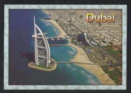 United Arab Emirates Dubai Aerial View Picture Postcard U A E View Card - Dubai