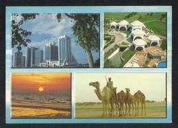 United Arab Emirates Dubai 4 Scene Picture Postcard U A E View Card - Dubai
