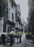 VITRE Rue Baudrairie Vers 1940 Grande Photo Bretagne Ille-et-Vilaine 35 - Lieux