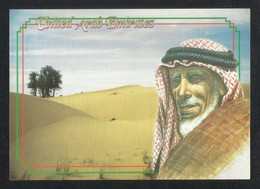 United Arab Emirates The Face In The Golden Sand Picture Postcard U A E View Card - Dubai