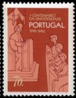 Portugal, 1990 University Of Lisboa 700 Year 1 Value MNH Teacher Students - Celebrations