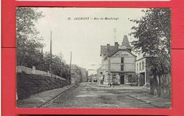 JEUMONT 1938 RUE DE MAUBEUGE HOTEL DU NORD CARTE EN TRES BON ETAT - Jeumont