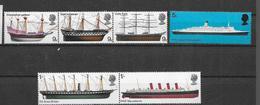 Yv.  549/54 * * - Barcos