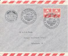 Greenland SAS First Flight Sdr. Strömfjord - Copenhagen 15-11-1954 - Greenland