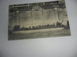 Beaumont Monument Aux Morts Pour La Patrie 1914-1918 - Beaumont