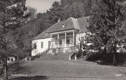 PERNITZ, RAIMUNDVILLA (NÖ), Fotokarte 1962 Gelaufen (Kleinformat), 2 Nadellöcher Rechts Unten - Pernitz