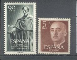 ESPAÑA -  YVERT 836  -  972 (#2078) - 1951-60 Usados