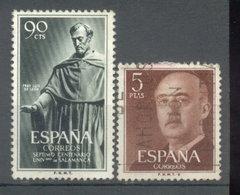 ESPAÑA -  YVERT 836  -  972 (#2079) - 1951-60 Usados