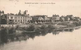 49 Rochefort Sur Loire La Loire Et Les Quais Cachet Convoyeur Ambulant Nantes à Angers 1929 - France
