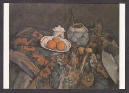 PC123/ CEZANNE, *Nature Morte Au Vase Paillé, Sucrier Et Oranges*, New York, Museum Of Modern Art - Pittura & Quadri
