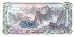 KOREA P. 19e 5 W 1978 UNC - Corea Del Nord