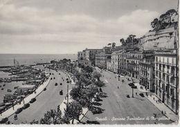 1953 NAPOLI - STAZIONE FUNICOLARE MERGELLINA - Q0297 - Napoli