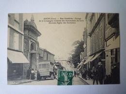 2019 - 1874  AUCH  (Gers)  :  Rue Gambetta  -  Garage De La Compagnie Générale Des Automobiles Du Gers   XXX - Auch