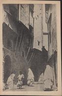 CP FM Franchise Militaire Guerre D'Algérie Rue Dans La Kasbah EPA 1 Rue Feuillet Alger - Military Service Stampless