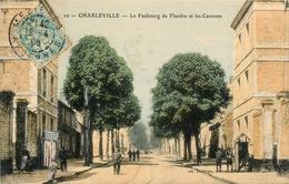 Mezières - 1906 - Le Faubourg De Flandre Et Les Casernes - Belle Animation - Francia