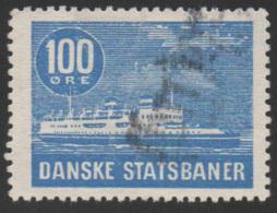 Denmark, D.S.B., Railway Stamp, Used - Denemarken