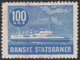 Denmark, D.S.B., Railway Stamp, Used - Other
