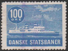 Denmark, D.S.B., Railway Stamp, Used - Denmark