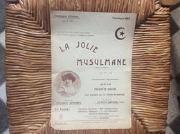LA JOLIE MUSULMANE *Paulette Silver  CAMPAGNE D'ORIENT  Salonique 1917 - Partituren