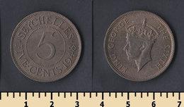 Seychelles 5 Cents 1948 - Seychellen